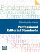 The Editors Association of Canada outlines the competencies required for four main types of editing.